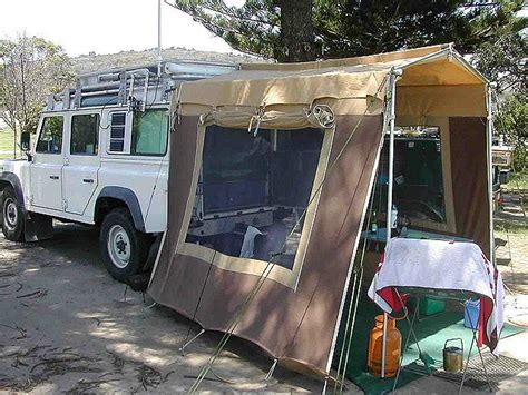 homemade 4wd awning sleeping in the back of your fourby australian 4wd
