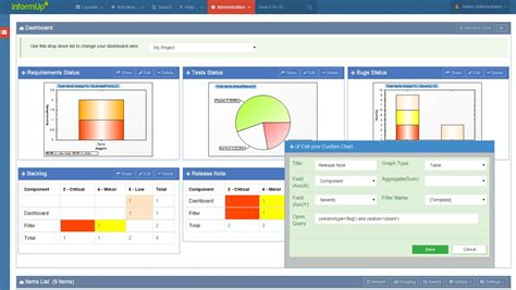 tracking system bug tracking system of informup bugup tracker software