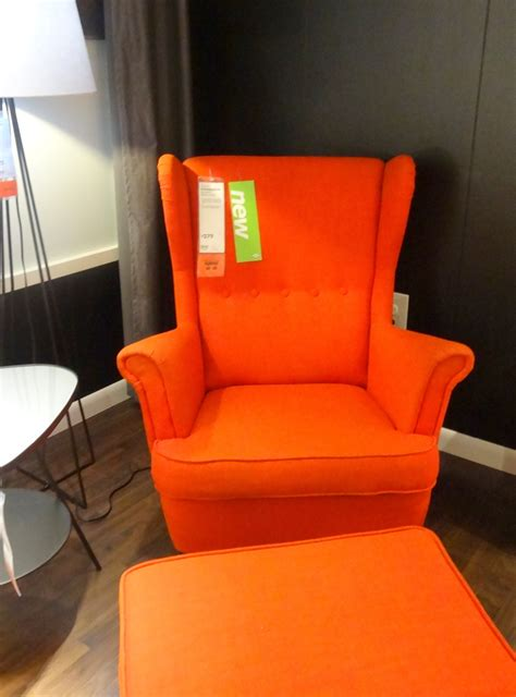 ikea orange armchair the happiest place on earth teach love craft