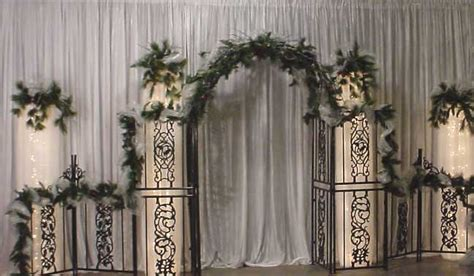 wedding backdrop ideas with columns wedding decoration backdrops decoration