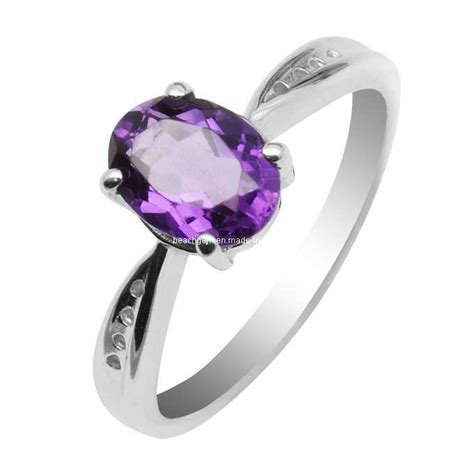 china silver amethyst jewelry rings gr0018 china ring
