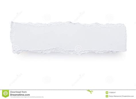 A Paper Banner - torn paper banner stock image image of tear torn