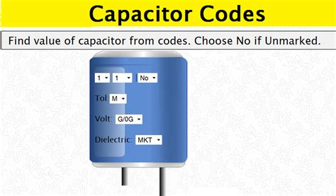 identification of capacitor value resistor and capacitor identification 28 images standard color codes electronics everyday