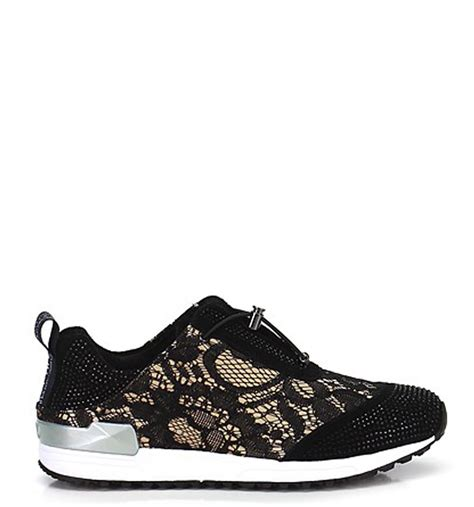 Jo In Shoes liu jo trainers made in textile with lace fratinardi