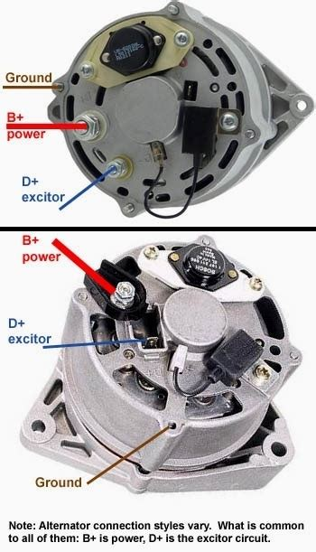 bosch alternator wiring diagram wiring diagram and