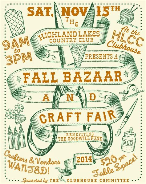 41 Best Images About Flyers Designs On Pinterest Renegade Craft Fair Fundraising And Events Craft Fair Flyer Template