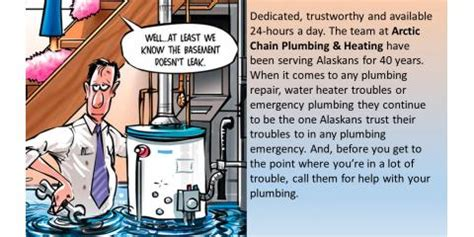 Alaska Best Plumbing And Heating by For Plumbing Installation In Alaska Call The Plumbing