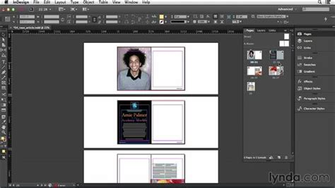 Indesign Layout Pages Side By Side | inserting deleting and moving pages