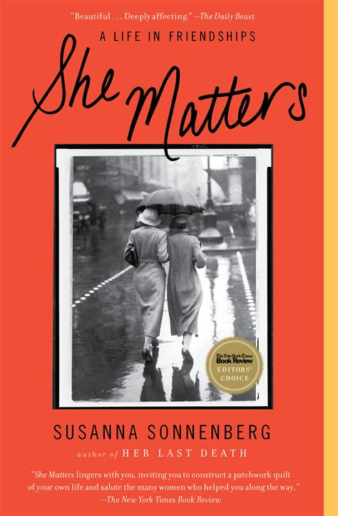 Last Sussana Sonnenberg she matters book by susanna sonnenberg official