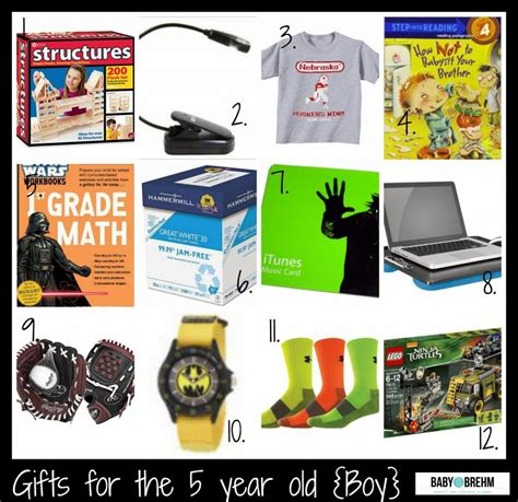 gift for 5 year gift ideas for the 5 year boy baby on the brehm