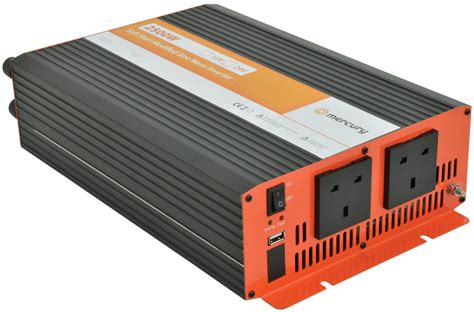 Inverator Slowstart Softstart 2500w 2500w 12v modified sine wave power inverter cer