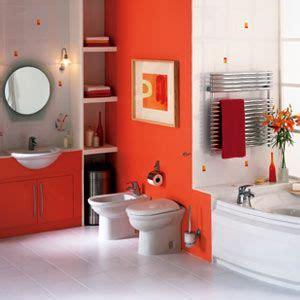 Orange Bathroom Decor by 25 Best Ideas About Orange Bathrooms On