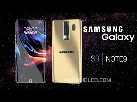 Samsung S9 Note Samsung Galaxy S9 And Note 9 Edge Gold Official