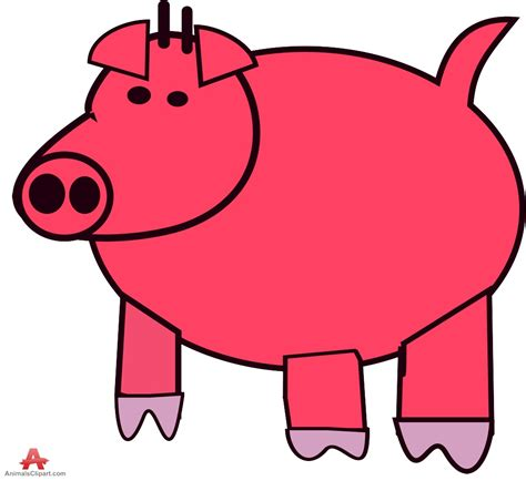 free clip clipart image of pig clipart 7 pig clip free vector