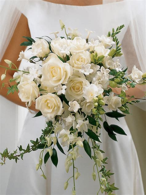 Wedding Bouquets Uk by Ivory Orchid Scented Bridal Bouquet