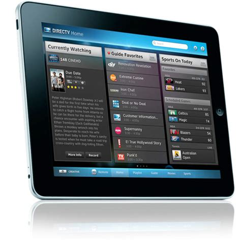 directv app for android tablet directv shows app but doesn t tout