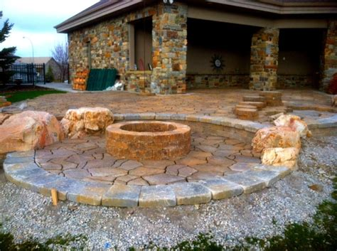 paver patios with pit paver patio with pit home decor