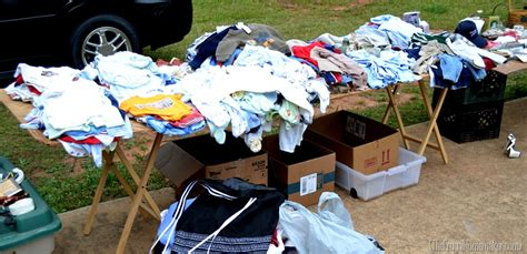 Garage Sales Baby Stuff by 8 Tips For Hosting Your Own Yard Sale How To Shop Yard