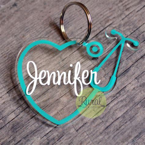 stethoscope keychain nurse doctor nurse gift nursing