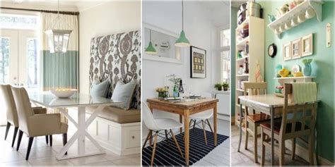 small dining space ideas that makes a big impact