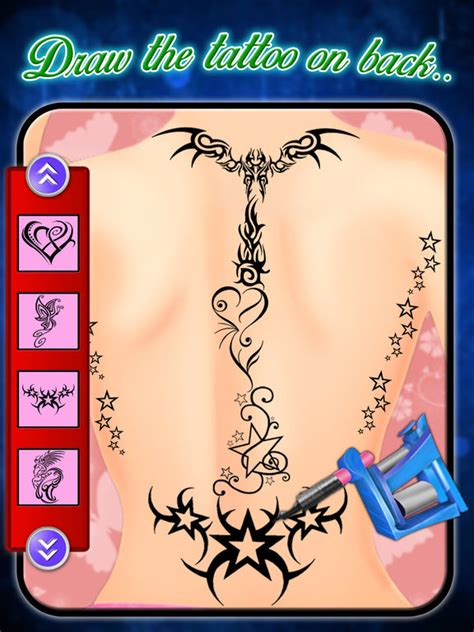 tattoo maker free online game app shopper back tattoo art maker girls tattoo maker