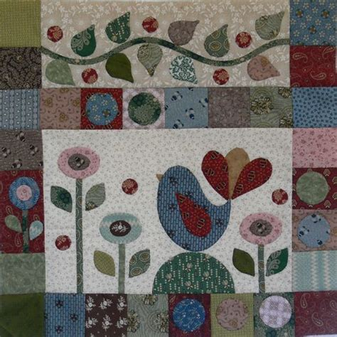 Gails Patchwork - 118 best edge applique and rag quilts images on