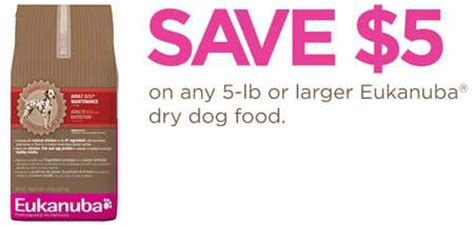 Dog Food Coupons Eukanuba | image gallery eukanuba coupons 2015