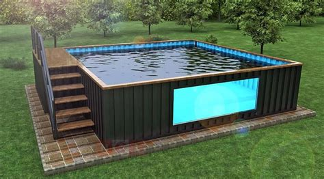 shipping container pool the ultimate buying guide