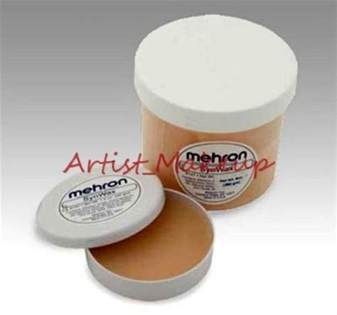 Mehron Modeling Synwax Large 10 Oz mehron synwax modeling eyebrows blocker wax fx special