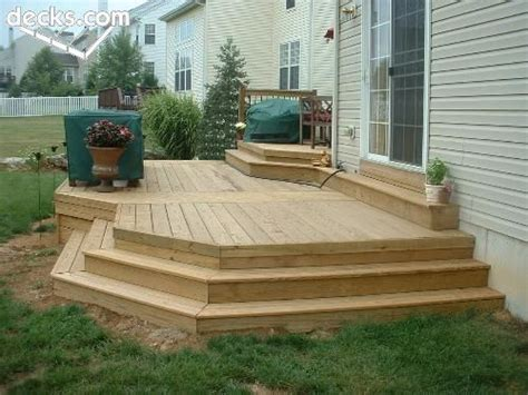 elevation deck picture gallery deck ideas
