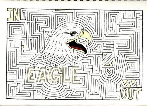 Animal Maze by Eagle Animal Maze 1 By Amazingmattsmazes On Deviantart