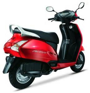 Honda Activa Dlx Mileage Honda Bikes And Cars Honda Activa Review Price And Pictures