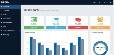 dashboard templates for asp net admin template free download for asp net tpmonline info