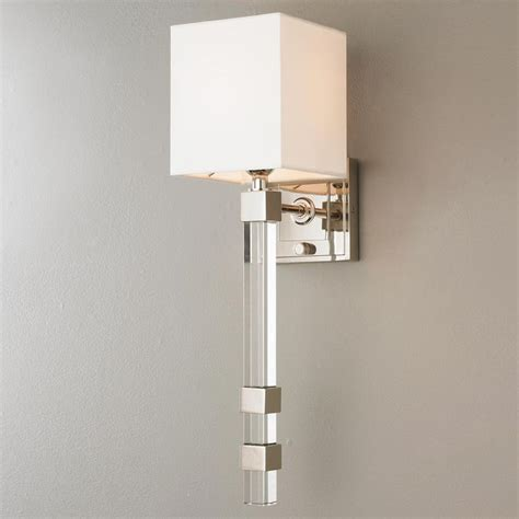 Modern Bathroom Wall Sconce 17 Best Images About Clear Glass On Semi Flush Ceiling Lights