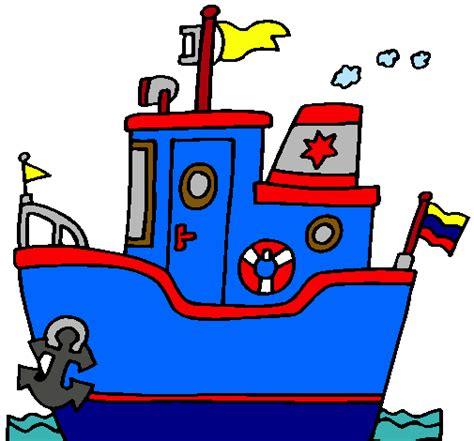 barco con ancla dibujo dibujo de barco con ancla pintado por paballito en dibujos