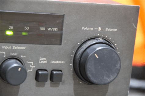 Saklar Selector Input audio2nd nad 3140 stereo lifier sold