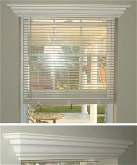 crown molding window treatments window molding hide a blind wood crown molding