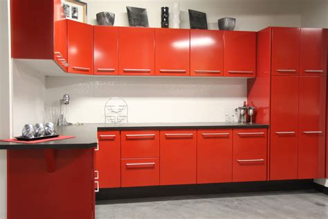 red kitchen furniture excellent red kitchen cabinets for your home coziness