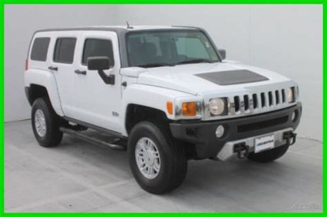 sell used 2008 hummer h3 4wd manual with runnnig boards low miles clean vehicle in houston