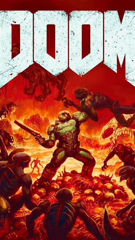 doom hd wallpaper   mobile phone