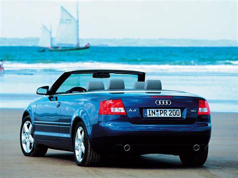 Audi A4 2002 Technische Daten by 2002 2009 Audi A4 Cabrio Autoguru Katalog At