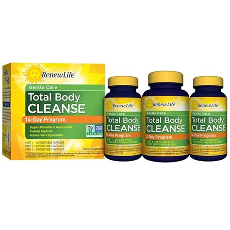 Gold Total Detox by Renew Gentle Care Total Cleanse 14 Day