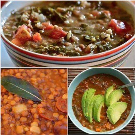 recetas de cocina tradicional casera lentejas con chorizo verdura y carne receta tradicional