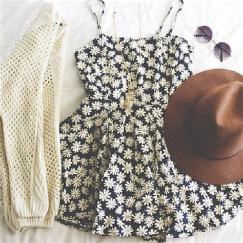 daisy print summer dress pictures   images
