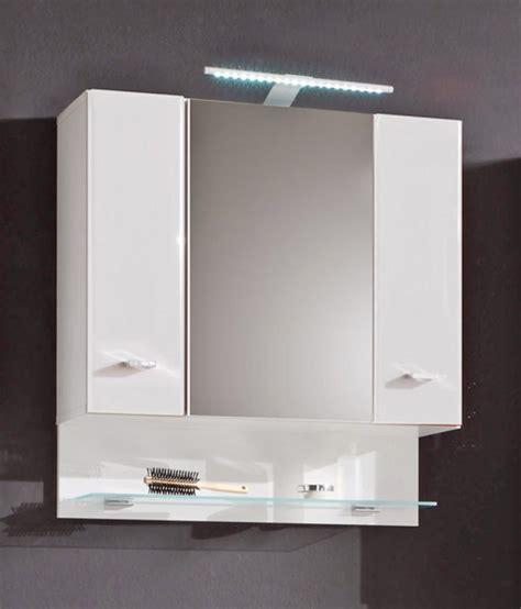 moderne badezimmer spiegelschränke spiegelschrank wei 223 mit beleuchtung bestseller shop f 252 r