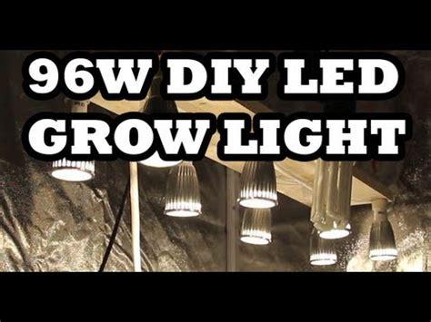 diy led grow light   build    youtube