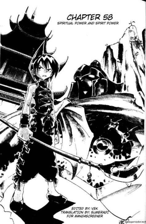 shaman king reader shaman king 58 read shaman king 58 page 2
