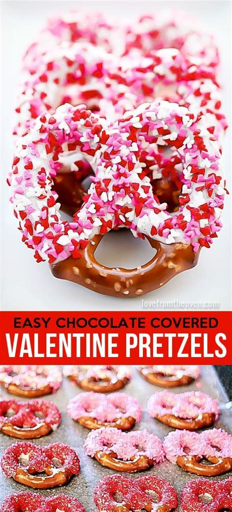 valentines day pretzels the world s catalog of ideas
