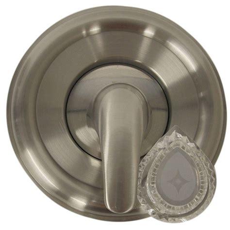 Moen Shower Doors Danco Single Handle Valve Trim Kit For Moen Tub Shower In Brushed Nickel 10002 The Home Depot