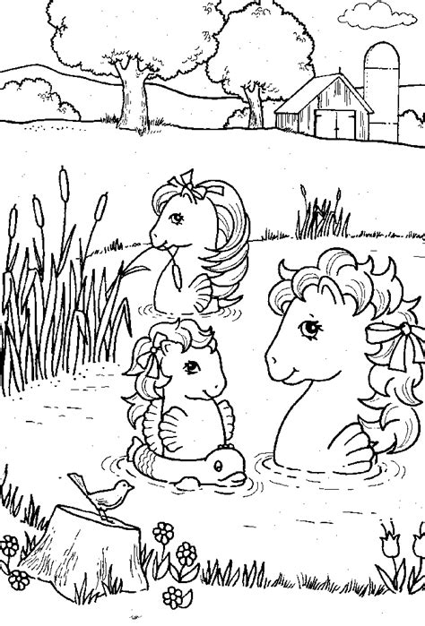 sea pony coloring pages sea ponies colouring pages page 2 coloring home